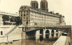 île de La Cité avant Haussmann