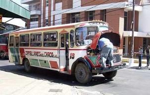 bus chatarra